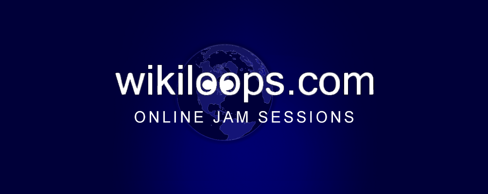 wikiloops backing track collaborations